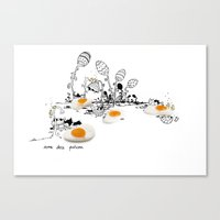easter Canvas Prints featuring Easter by Ana Sofia Santos