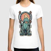 samus T-shirts featuring Samus Nouveau by Megan Lara