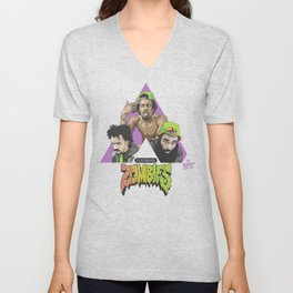 FLATBUSH ZOMBIES Unisex V-Neck