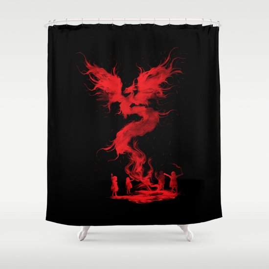 Let's the magic begin... Shower Curtain