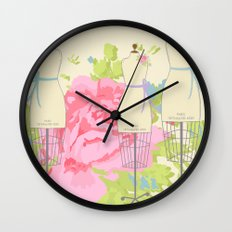 Sewing Room Dress Forms Wall Clock