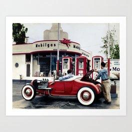 Lou Banta Model T Roadster Art Print