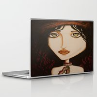 model Laptop & iPad Skins featuring model by Gabriele Perici