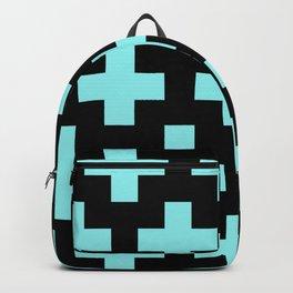 blue cross Backpack