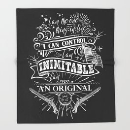 Hamilton - Inimitable Throw Blanket