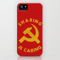 Sharing Is Caring iPhone (5, 5s) Slim Case