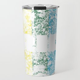 LGBTQ+ Pride Flag Distressed Design Travel Mug