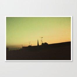 Derry Sky Canvas Print