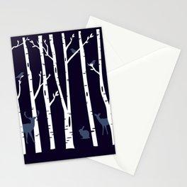 Bosque animado Stationery Cards