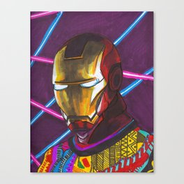 Iron Man in a Cosby sweater Canvas Print