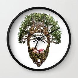 Mei's Tree Wall Clock