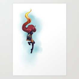 Princess of the Stars Art Print