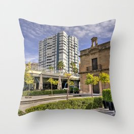 Chapel of the Port Throw Pillow