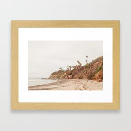 San Diego Coast Framed Art Print