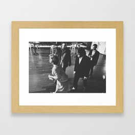 Wedding Cha Cha Framed Art Print
