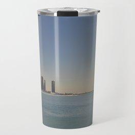 Chicago skyline #1 Travel Mug