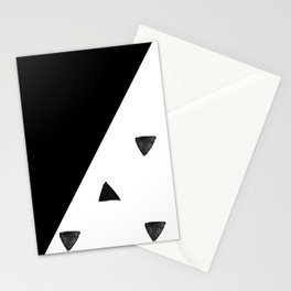 Triangle and triangles Stationery Cards