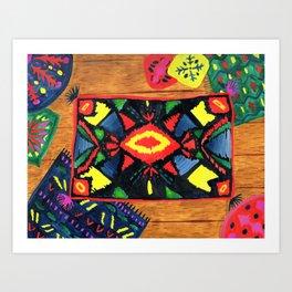 The Resting Floor Art Print
