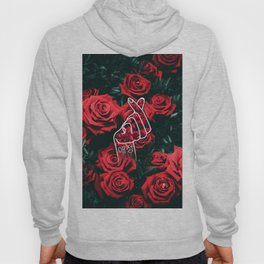 Love Finger Snap Roses Hoody