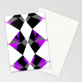 Gemstones Purple Stationery Cards