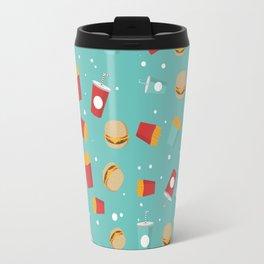 Burgers pattern Travel Mug