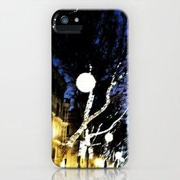 Christmas City Lights iPhone Case