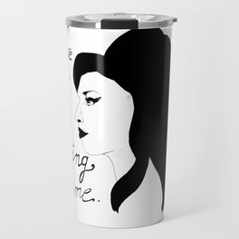 Love is a losing game. Travel Mug