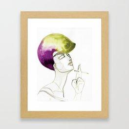 Dorien Framed Art Print