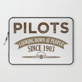Pilot Proud Aviation Lover Gift Idea Laptop Sleeve
