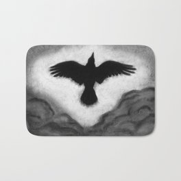 Flight of the Crow Bath Mat