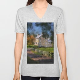 If These Walls Could Talk Unisex V-Neck