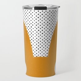 Orange Monster Travel Mug