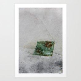 Copper Leaf Art Print