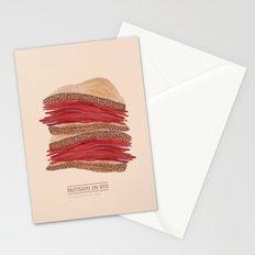 Pastrami on Rye Stationery Cards