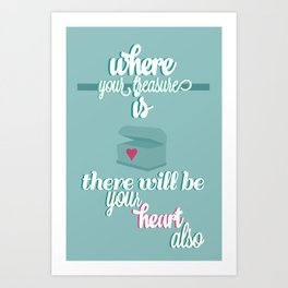 Treasure Art Print