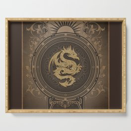 Wonderful chinese dragon Serving Tray