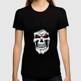 Skull tribal tattoo T-shirt