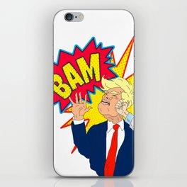 Stop Tweeting Trump iPhone Skin