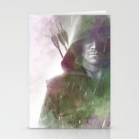 arrow Stationery Cards featuring Arrow by NKlein Design