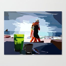 People Watch Canvas Print