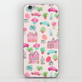 Pink House iPhone Skin