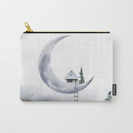 Moon House Carry-All Pouch
