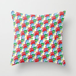 Inside Out - All Over Print Throw Pillow