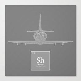A-4 Skyhawk Canvas Print