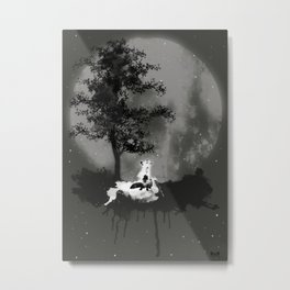 Lighting up mind shadows Metal Print