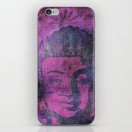 Watercolor Buddha Head Illustration iPhone Skin