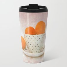 a cup full of apricots Travel Mug