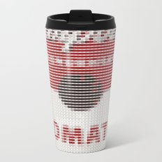 Pantone as pixel Campbell Metal Travel Mug