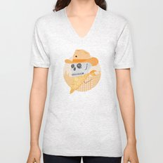 Wanted Dead Unisex V-Neck