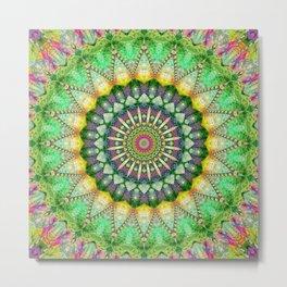 Mandala Patchwork 1 Metal Print